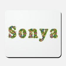 Sonya Floral Mousepad