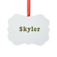 Skyler Floral Ornament