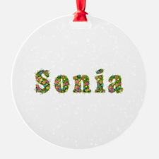 Sonia Floral Ornament