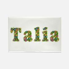Talia Floral Rectangle Magnet