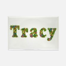 Tracy Floral Rectangle Magnet