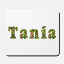Tania Floral Mousepad