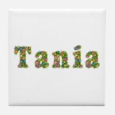 Tania Floral Tile Coaster