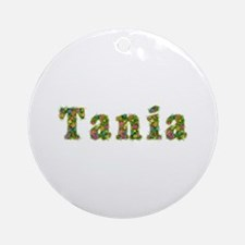 Tania Floral Round Ornament