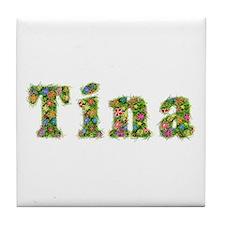 Tina Floral Tile Coaster