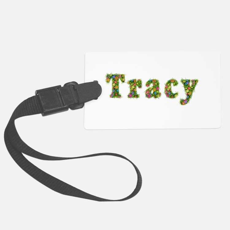 Tracy Floral Luggage Tag
