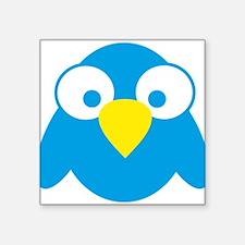 "twitter Square Sticker 3"" x 3"""