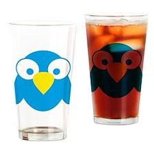 twitter Drinking Glass