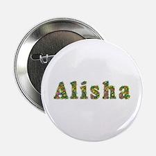 Alisha Floral Button