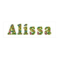 Alissa Floral 36x11 Wall Peel