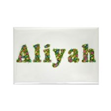 Aliyah Floral Rectangle Magnet