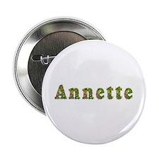 Annette Floral Button