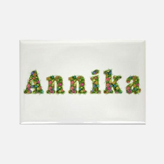 Annika Floral Rectangle Magnet