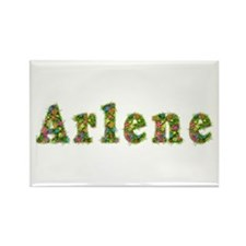 Arlene Floral Rectangle Magnet
