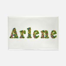 Arlene Floral Rectangle Magnet