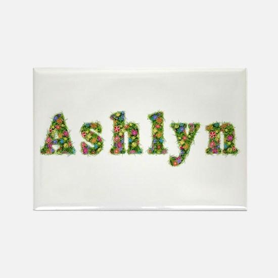 Ashlyn Floral Rectangle Magnet