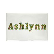 Ashlynn Floral Rectangle Magnet