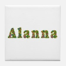 Alanna Floral Tile Coaster