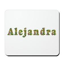 Alejandra Floral Mousepad