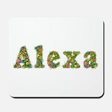 Alexa Floral Mousepad