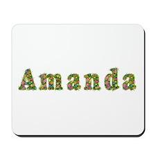 Amanda Floral Mousepad