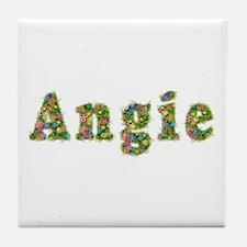 Angie Floral Tile Coaster