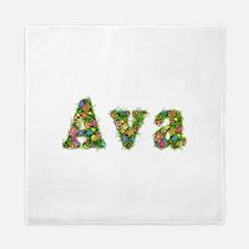 Ava Floral Queen Duvet