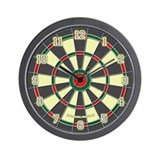 Dart board Wall Clocks