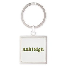 Ashleigh Floral Square Keychain