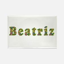 Beatriz Floral Rectangle Magnet
