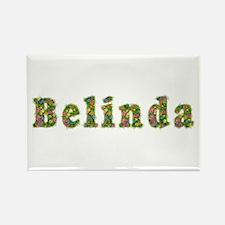 Belinda Floral Rectangle Magnet