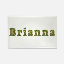 Brianna Floral Rectangle Magnet