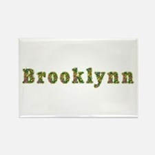 Brooklynn Floral Rectangle Magnet