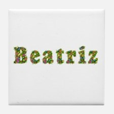 Beatriz Floral Tile Coaster