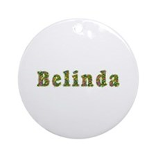 Belinda Floral Round Ornament