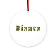 Bianca Floral Round Ornament