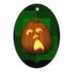 OooOooooOo Oval Ornament