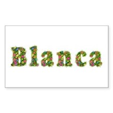 Blanca Floral Rectangle Decal