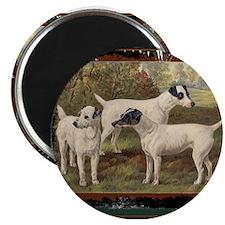 Antique Fox Terriers Magnet