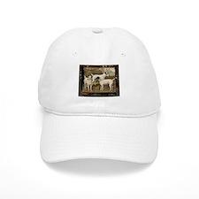Antique Fox Terriers Baseball Cap