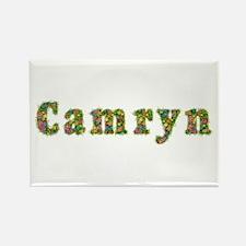 Camryn Floral Rectangle Magnet