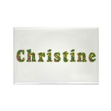 Christine Floral Rectangle Magnet