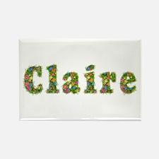 Claire Floral Rectangle Magnet