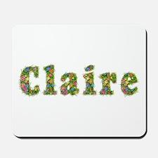 Claire Floral Mousepad