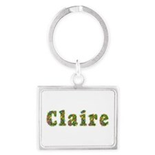 Claire Floral Landscape Keychain