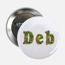 Deb Floral Button