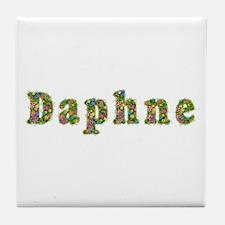 Daphne Floral Tile Coaster
