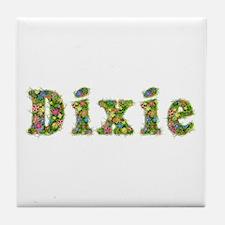 Dixie Floral Tile Coaster