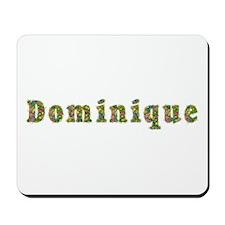 Dominique Floral Mousepad