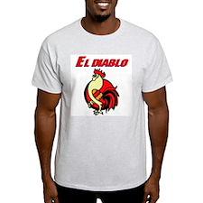 El Diablo Ash Grey T-Shirt